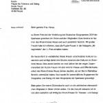 Gratulation zum Bürgerpreis an Puzzle e.V. von Landrat Hans-Jürgen Petrauschke 24.09.2014