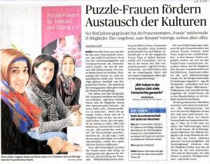 Puzzle-Frauen fördern Austausch der Kulturen - NGZ 13.03.2013